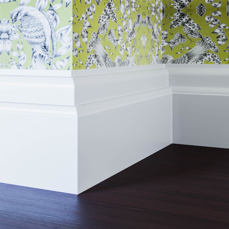 18mm Classic Lambstongue Skirting Board