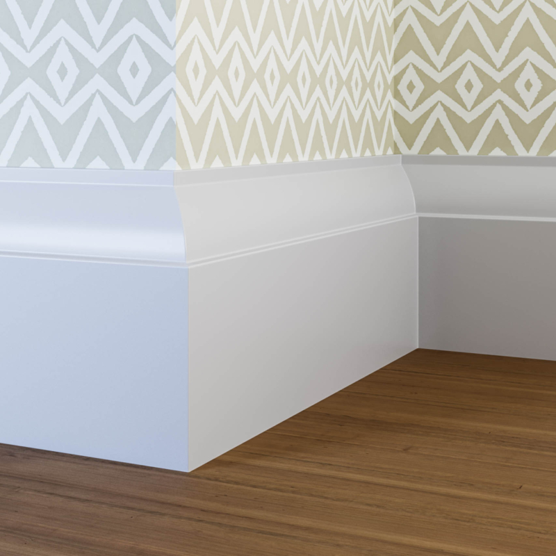 18mm Small Ovolo Skirting Board