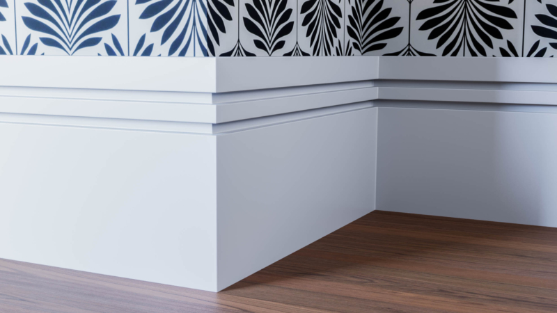 Groove 2 Skirting Board