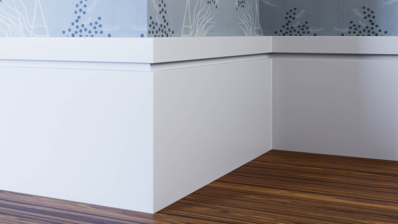 Groove Skirting Board