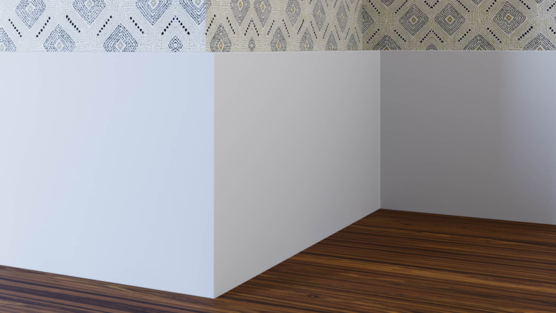 Square Edge Skirting Board