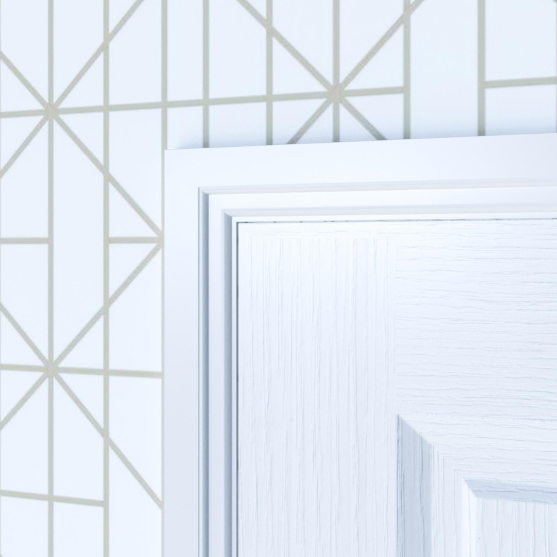 Classic Lambstongue Moisture Resistant MDF Architrave