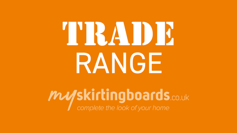 Trade Range Skirting Board
