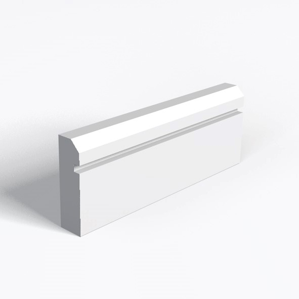 Chamfer And 1 Square Groove Architrave