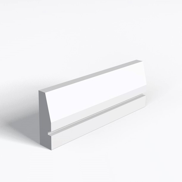 Splay And 1 Square Groove Architrave