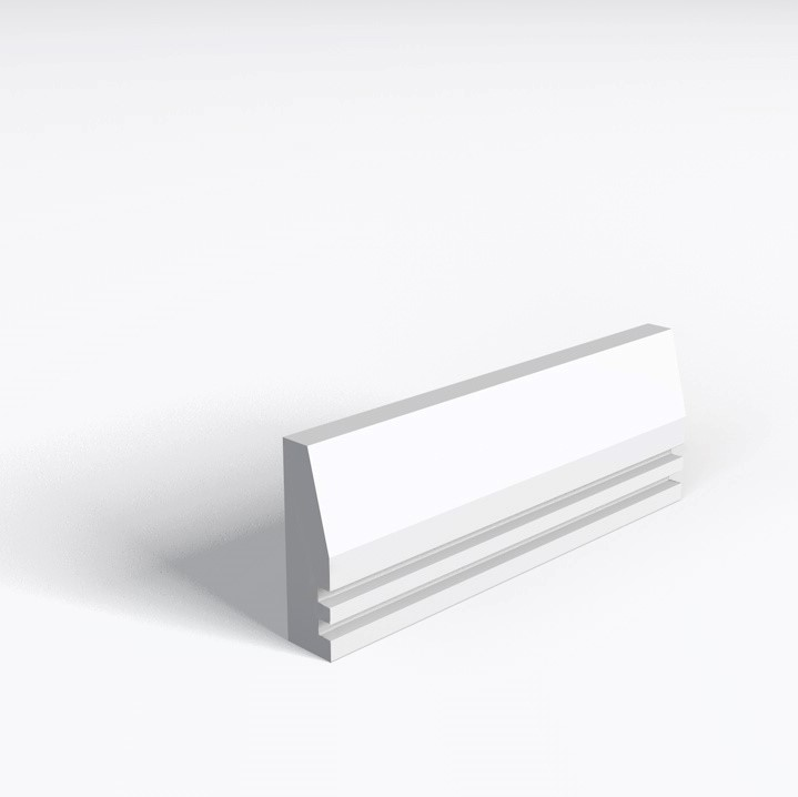 Splay And 2 Square Grooves Architrave