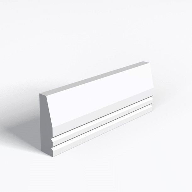 Splay And 2 V Grooves Architrave