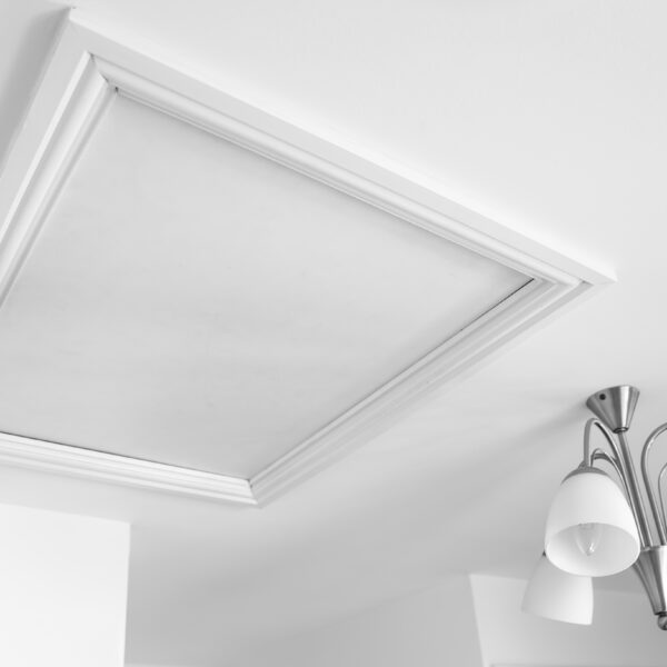 Architraves on loft hatch